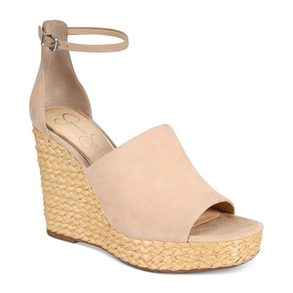 Jessica Simpson Suella Espadrille Wedge Sandals